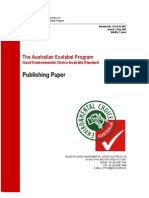 Australian Ecolabel Program