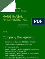 Mang Inasal Philippines, Inc