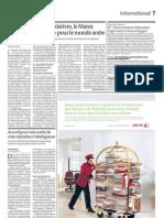 Accord de sortie de crise attendue à Madagascar (Le Monde, 20 Septembre 2011)