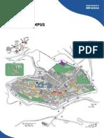 Università degli Studi di Urbino - Mappa del Campus - 2011/2012