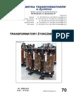 Transformatory Zywiczne