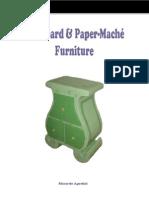 Cardboard and Paper Mâché Furniture - presentation