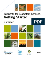 Payments for Ecosystem Services - Getting Started
