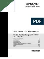 L42S601 User Manual FR