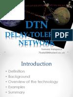 Delay Tolerant Networks Presentation