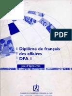 DFP Affaires B2 Jeu D Epreuves