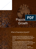 Population Growth (MST6)