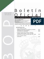 Boletín Oficial de la Provincia de Huelva lunes 22 de agosto de 2011