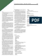 DOGC Correcció errada Ordre ENS582003 (Convalidacions FP LOGSE)