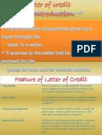 Letter of Credit1
