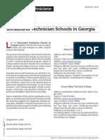 Ultrasound Technician Schools in Georgia
