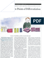 Discovering New Points of Differentiation (1)