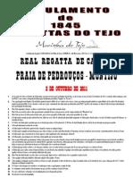 CLXVI REAL REGATTA DE CANOAS 2 DE OUTUBRO 1845-2011