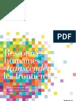 Ressources humaines - transcender les forntières