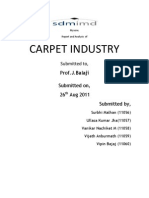 Report on Carpet Industry