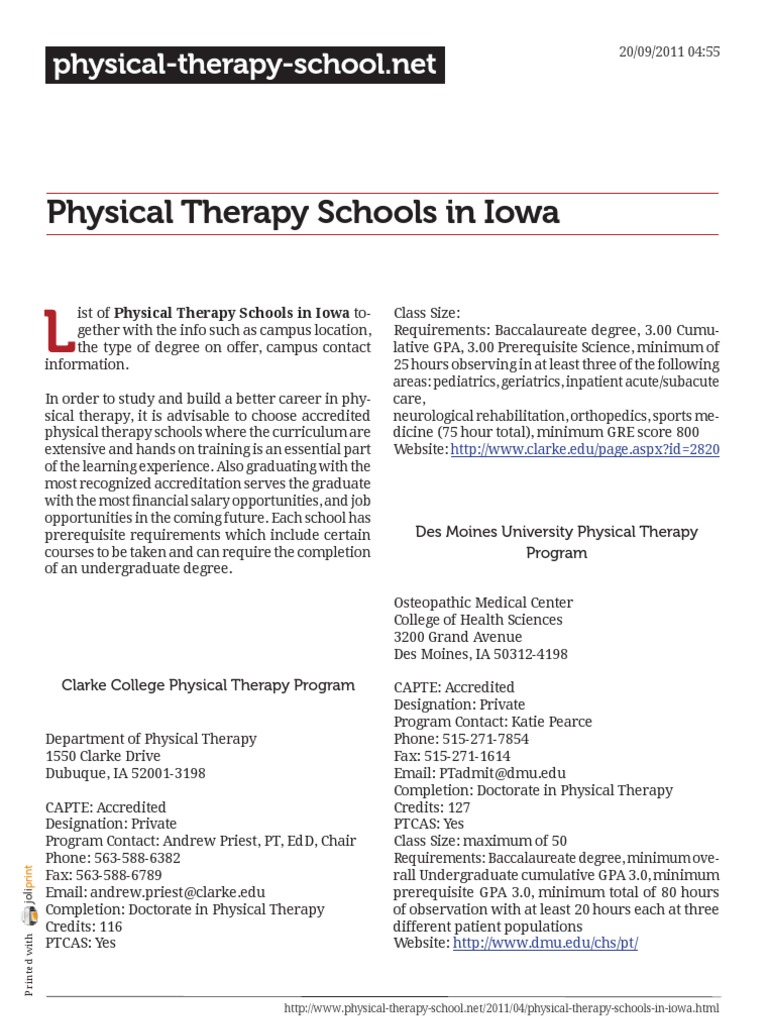 College with physical therapy major - College With Physical Therapy Major 84