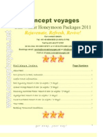 Concept Voyages' Bali Winter Packages 2011