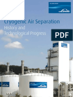 Cryogenic Air Separation, Histroy and Technological Process