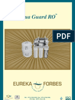 Eureka Forbes Manual
