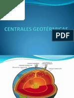 CENTRALES GEOTÉRMICAS