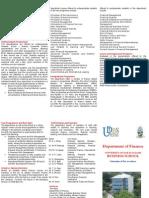 Finance Brochure 2009