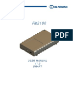 FM2100 User Manual V1.0 Draft