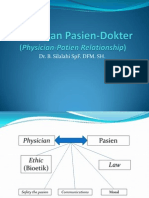 Hubungan Pasien-Dokter