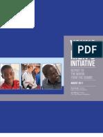 Young Mens Initiative Report