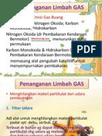 Penanganan Limbah Gas Dan B3