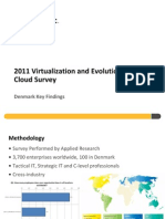Symantec 2011 Enterprise Cloud Study PRESS DECK - Denmark