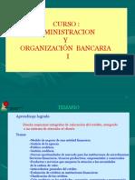 Admin is Trac Ion y Organizacion Bancaria i