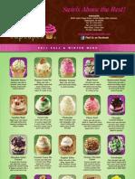 Fall Winter Menu Gigi's Cupcakes Indianapolis & Fishers