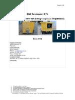 2005 Atlas Copco XAH4 OEM Drilling Compressor for Sale a