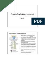 Protein Trafficking 041209