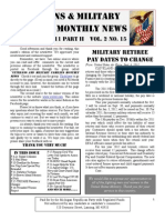 Veterans & Military Families Monthly News-September 2011 Part II