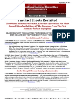 The Fact Sheets Revisited