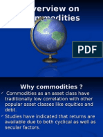 Overview on Commodities