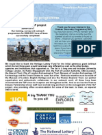 TDP Newsletter Autumn 2011