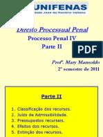 Processo Penal IV - Parte II