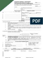 Re- Evalution Form