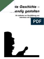 Globale Medienwerkstatt (Hrsgin). Erlebte Geschichte - lebendig gestalten