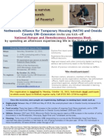 Poverty Simulation Flyer