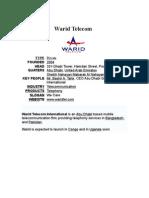 Report on Warid