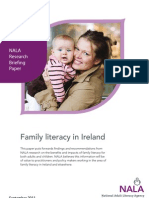 Family Literacy Briefing Paper