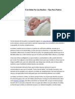 Como Dormir a Un Bebe - Tips Para Padres