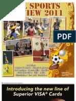 2011 Fall Sports Tab