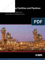 Oil and Gas Facilities and Pipelines