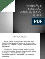 TRANSIÇÃO E EVOLUÇÃO DEMOGRÁFICA DO BRASIL [COMPLETA]
