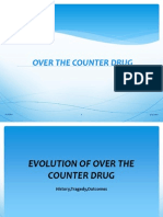 Over the Counter Drug Ppt