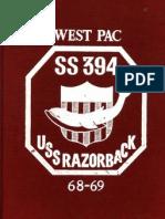 1968-69 USS Razorback (SS-394) Cruise Book